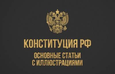 Конституция РФ основные статьи с иллюстрациями